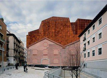 CAIXAFORUM. Мадрид. Херцог & де Мерон. Фасад