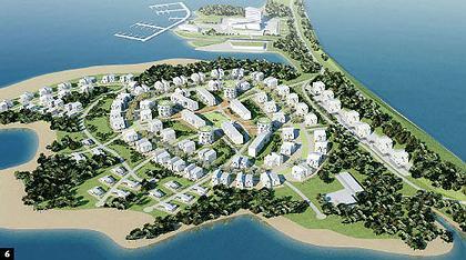 Жилой развлекательный комплекс «Остров».  Бюро McAdam Architects
