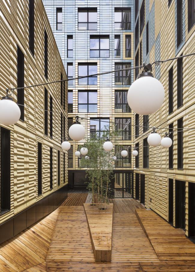 Социальное жилье и социальная столовая в Париже © Luc Boegly