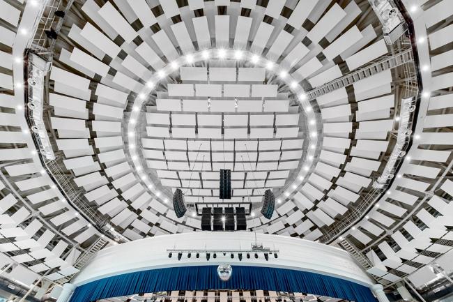 Амфитеатр в лагере «Орленок» © Ecophon
