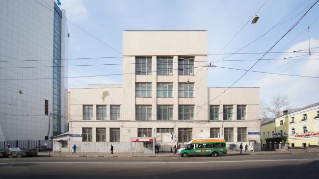 Здание Телеграфа на улице Бакунинская № 5. Существующее положение