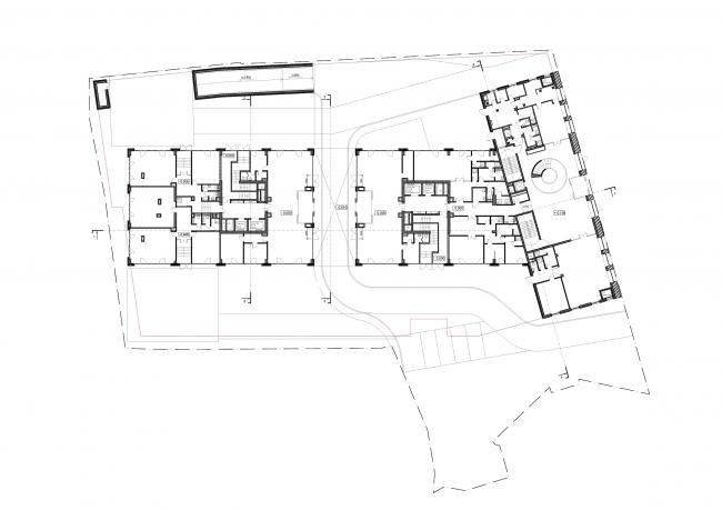 Апартаменты Tatlin © Architects of Invention