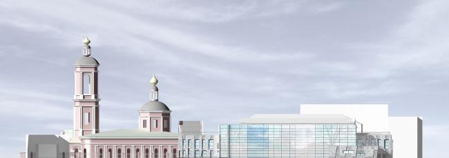 Административное здание в Пименовском переулке
