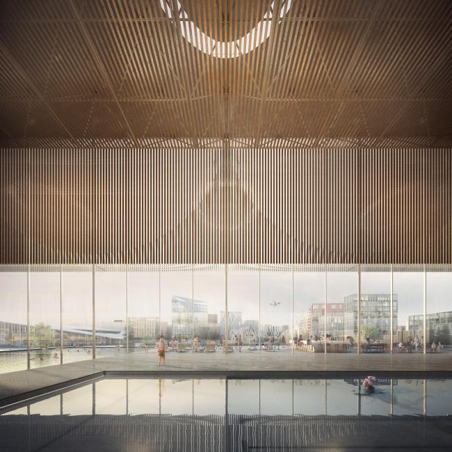 Аэротрополис Oslo Airport City © Forbes Massie