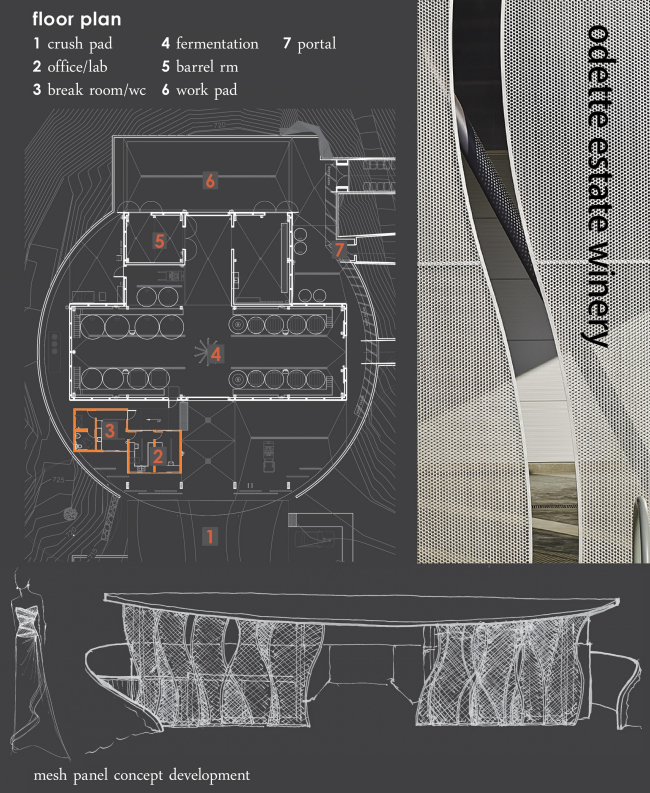 Винодельня Odette Estate © Signum Architecture