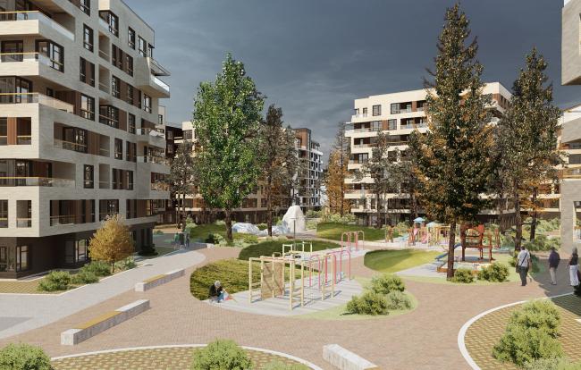 """Rafinad"" settlement, project © PANACOM"