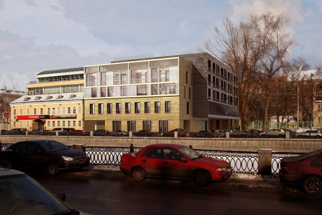 Жилой комплекс на Садовнической набережной