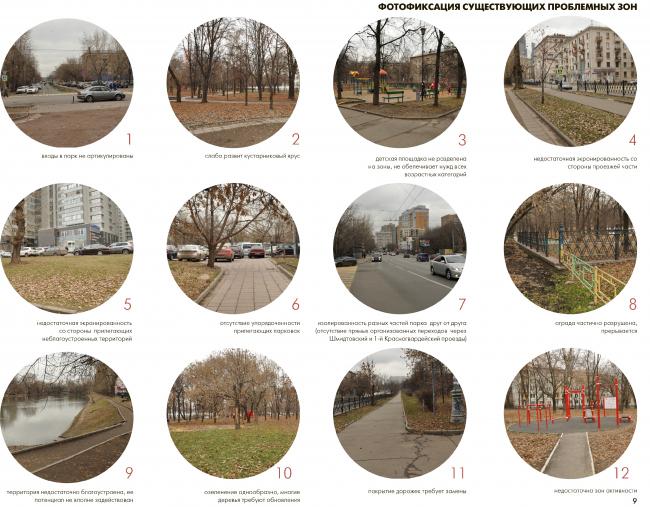 Благоустройство Красногвардейских прудов, Анализ проблемных мест © WOWHAUS