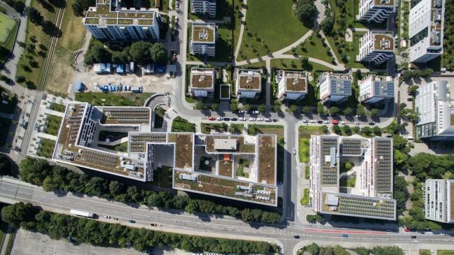 Офисный комплекс NuOffice в Мюнхене © Falk von Tettenborn Architects