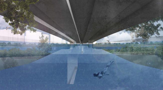 Проект «Бассейн». Автор: Юлия Белозерцева. Изображение предоставлено МАРШ