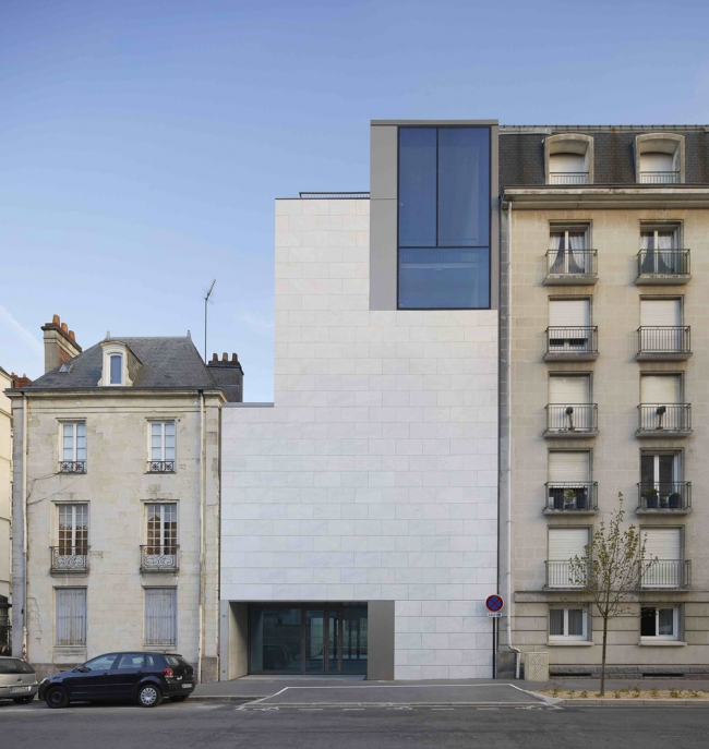 The Art Museum in Nantes, France © Hufton+Crow