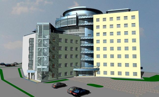 Поликлиника нового поколения в Бирюлево © ГУП МНИИП «Моспроект-4», мастерская №5