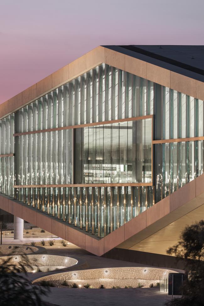 Национальная библиотека Катара. Фотография © Delfino Sisto Legnani and Marco Cappelletti, предоставлена OMA