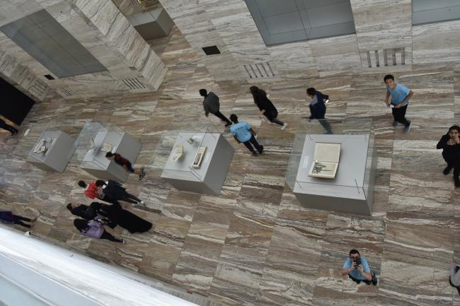 Национальная библиотека Катара. Фотография © Hans Werlemann, предоставлена OMA