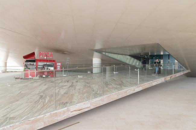 Национальная библиотека Катара. Фотография © Iwan Baan, предоставлена OMA