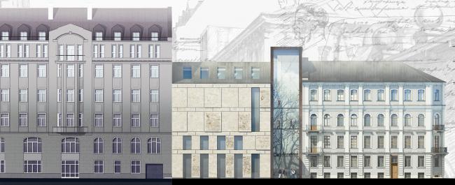 Concept of developing the Dostoyevsky Literary Memorial Museum © Evgeny Gerasimov & Partners