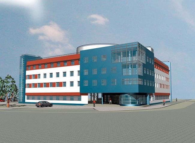 Поликлиника нового поколения в Кожухово © ГУП МНИИП «Моспроект-4», мастерская №5