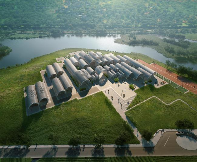Начальная школа Лушань. Изображение © VA