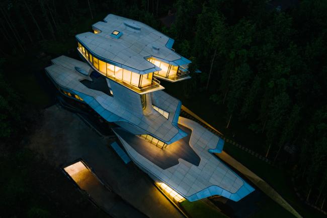 Capital Hill Residence, Zaha Hadid Architects. Изображение предоставлено OKO Group