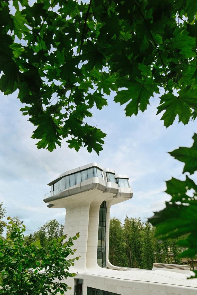 Capital Hill Residence, Zaha Hadid Architects. Photo courtesy by OKO Group