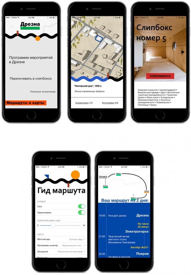 Концепция развития туристического бренда Дрезны. Шаг 3. Системно информировать © Архитектурное бюро Мегабудка
