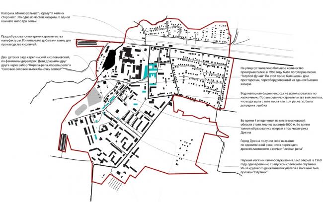 Концепция развития туристического бренда Дрезны. Городские легенды © Архитектурное бюро Мегабудка