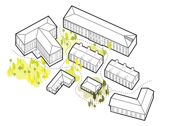 Концепция развития туристического бренда Дрезны. Зеленые насаждения © Мегабудка