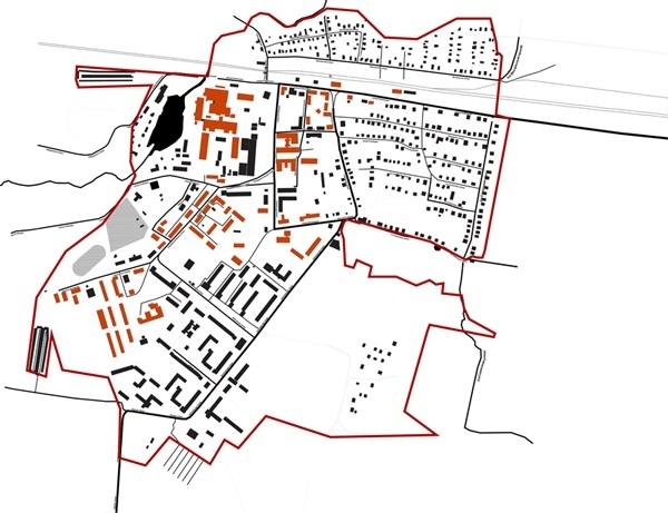 Концепция развития туристического бренда Дрезны. Кирпичные дома © Архитектурное Мегабудка