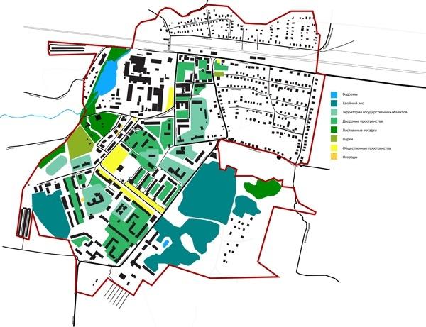 Концепция развития туристического бренда Дрезны. Ландшафтные особенности © Архитектурное бюро Мегабудка