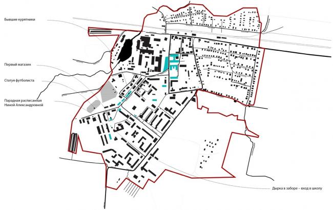 Концепция развития туристического бренда Дрезны. Локальные ценности © Архитектурное бюро Мегабудка
