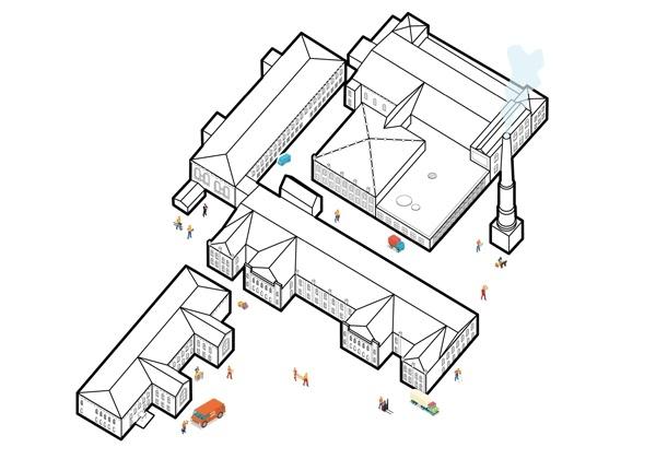 Концепция развития туристического бренда Дрезны. Вариант позиционирования: Город-мануфактура © Архитектурное бюро Мегабудка