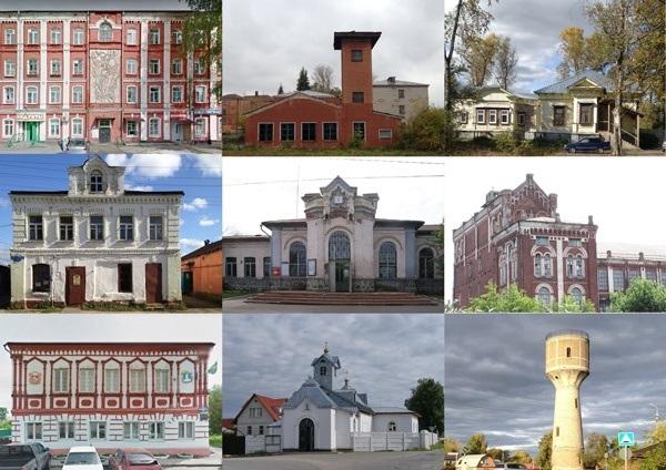 Концепция развития туристического бренда Дрезны. В результате были выявлены объекты с особой архитектурной ценностью © Архитектурное бюро Мегабудка