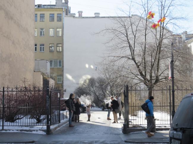 Существующий разрыв в застройке на месте дома №7 по Кузнечному переулку / Предоставлено Евгений Герасимов и партнеры