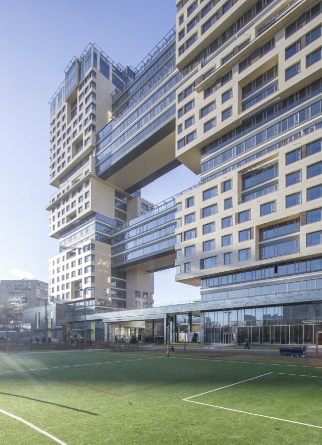 Жилой комплекс «Versis» на Нахимовском проспекте © Архитектурное бюро Асадова