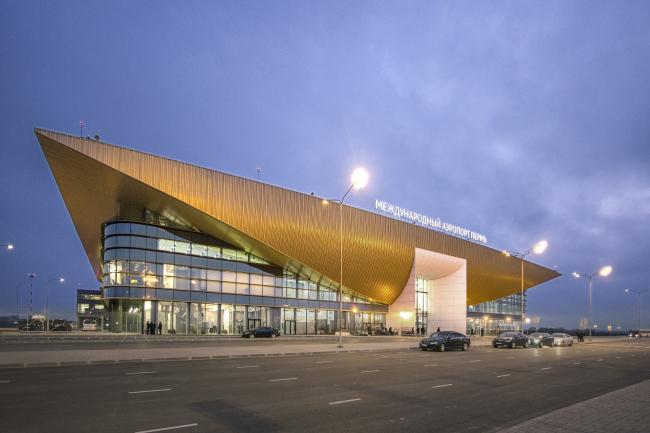 Аэропорт Перми  © Андрей Асадов