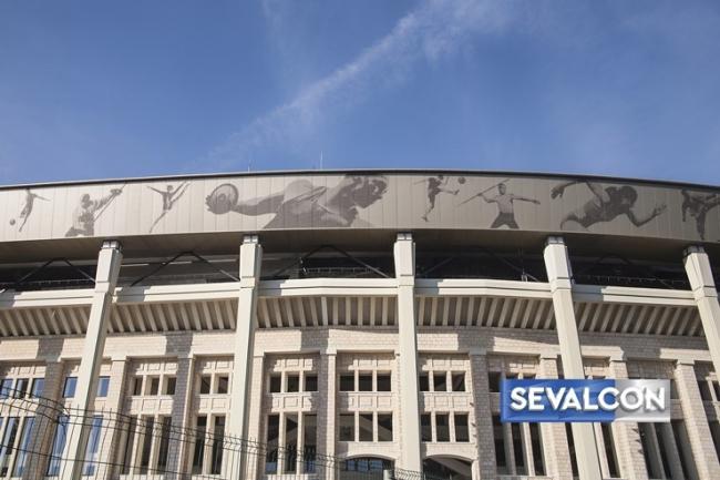 Стадион «Лужники». Изображение с сайта www.sevalcon.ru