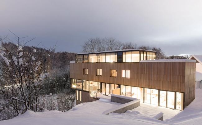 Дом «Два в одном» © Ivar Kvaal