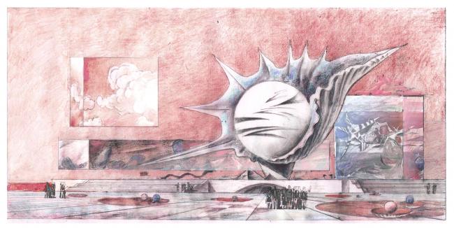 Концепция Невозможного музея.  Виктор, Максим и Филипп Орловские © ПТМ Орловского В.Ф.