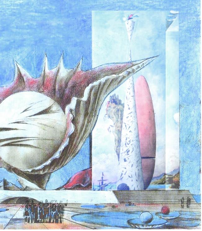 Артакты инсталляций космопластицизма. Концепция Невозможного музея.  Виктор, Максим и Филипп Орловские © ПТМ Орловского В.Ф.