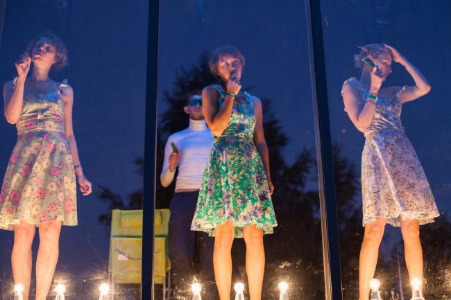 Кибитка. Проект фестиваля «Архстояние 2017» © АБ «А-ГА»