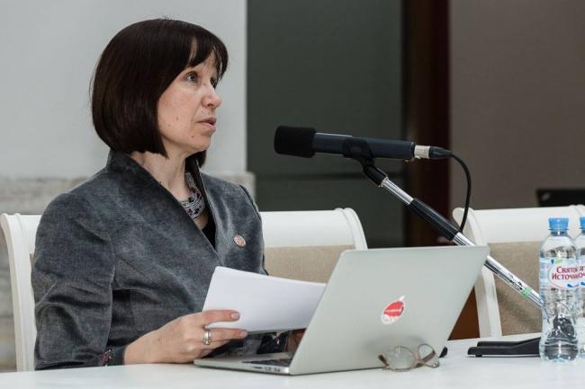 Директор «Хорошколы» Елена Булин-Соколова
