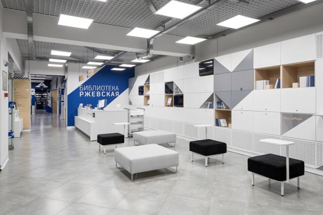 Библиотека «Ржевская», Петербург / архитекторы KIDZ