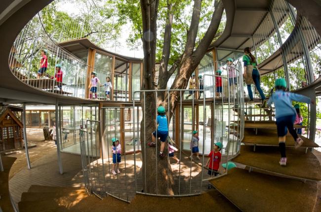 Детский сад Fuji, Япония / архитектор Такахару Тезука