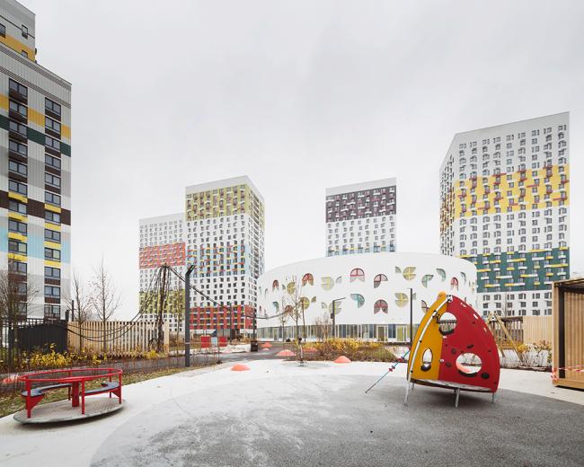 Детский сад на Варшавском шоссе © BuroMoscow