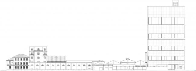 Корпус Torre в комплексе Фонда Prada © OMA