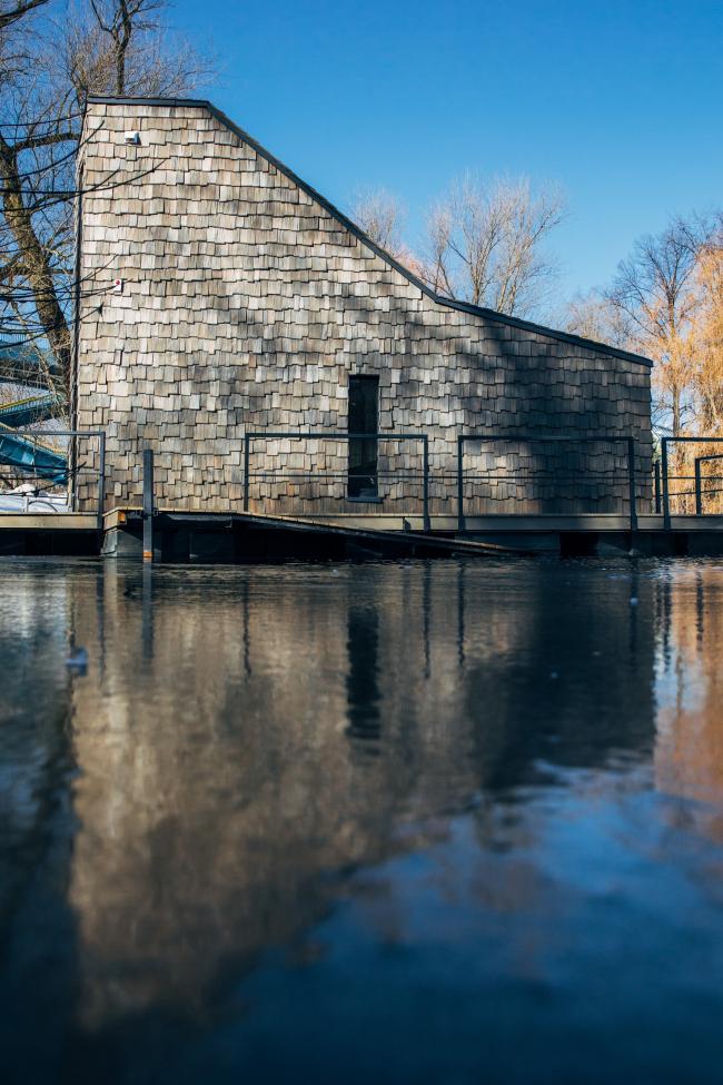 "Landscaping the Maly Golitsinsky Pond in the Gorky Park  © ""People's Architect"""