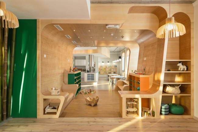 Детский загородный клуб «Я в домике» © архитектор Андрей Стрельченко