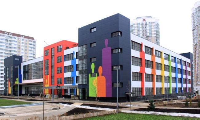 Школа в районе Некрасовка © ППФ «Проект-Реализация»