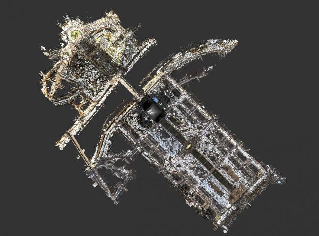 Территория конкурса, BIM-модель © Mairie de Paris et Autodesk