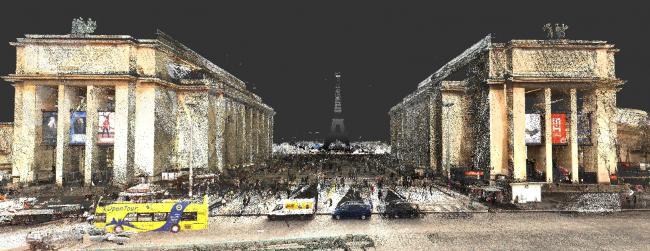 Крылья дворца Шайо, BIM-модель © Mairie de Paris et Autodesk